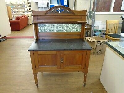 Vintage Victorian Wash Stand Table