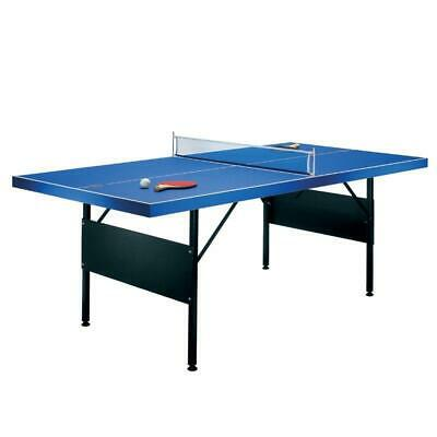 6' TABLE TENNIS TABLE COMPLETE KIT w. NET 2x BAT PADDLE