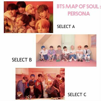 Bts 방탄소년단 [Map Of Soul :Persona] Fuji Film Print Photograph -Select Opts A /B /C