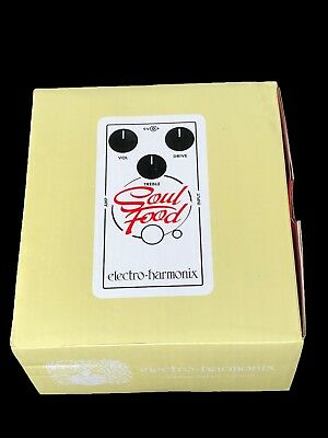Electro-Harmonix Soul Food Distortion Overdrive Guitar Pedal ~ New In Box!