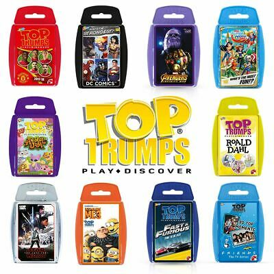 Top Trumps Specials – The Amazing Brand New 2018 Range