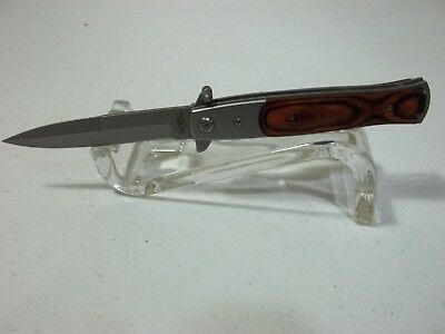 """Razor Tactical Stiletto Style Spring Assisted Knife 8.5"""" #RT-7033WD"""
