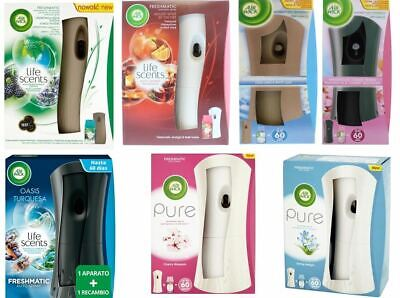 Airwick Freshmatic Pure Automatic Spray Holder & Refill Various Scents