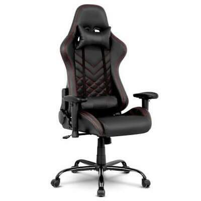 NEW Artiss Gaming Office Chairs Computer Desk Racing Recliner Executive Seat Bla