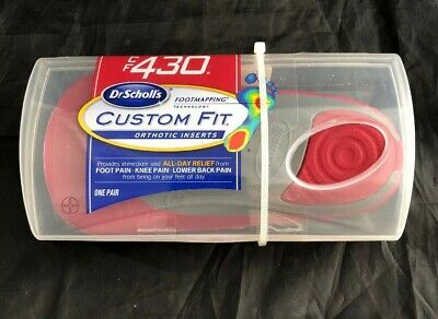 Scholl/'s Custom Fit Orthotic Inserts Dr CF 430 FREE SHIPPING!