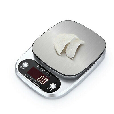 Electronic Scale Food Weight Scale Digital Kitchen Stainless Steel Precise