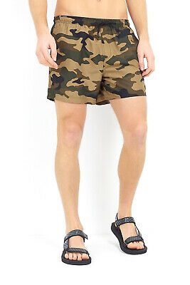 684ed24318 BRAVE SOUL MENS Richmond Designer Tropical Camouflage Print Swimming ...