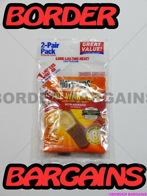 FREE FAST SHIP! BRAND NEW! LOT 6 Pairs HOTHANDS TOE WARMERS Keep Your Toes Warm!