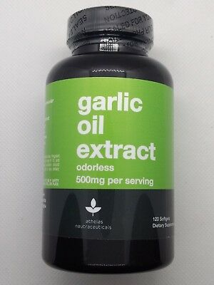 Odorless Garlic Oil Pills Non GMO Pure and Fresh No Additives Or Fillers