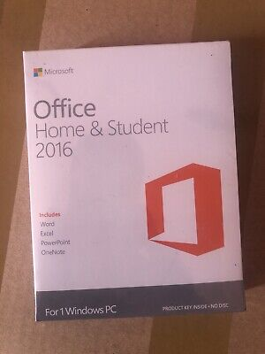 Microsoft Office Home and Student 2016(DVD&key)