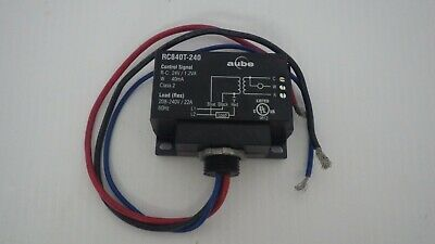 HONEYWELL AUBE RC840T-240 RELAY WITH TRANSFORMER, 22AMP, 208-240V 60Hz