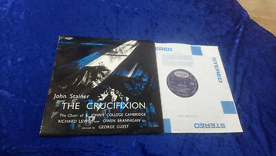 Stainer the crucifixion st johns college cambridge George Guest LP