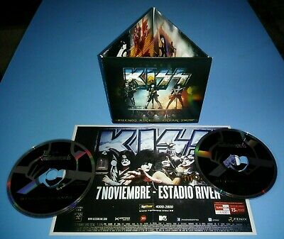 KISS Buenos Aires Freak Show 2CD Live 2012 Concert w/ Poster Godfatherecords