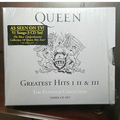 Queen - Greatest Hits (I II & III The Platinum Collection 3CD Box Set,