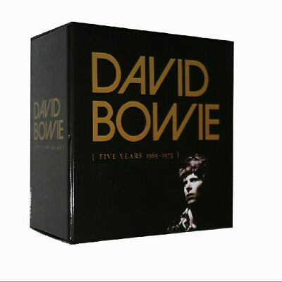 David Bowie Five Years1969--1973 12CD China Factroy New Sealed