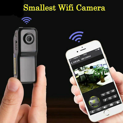 Mini Spia Telecamera Wireless Wifi IP Nascosta Spy Full HD Video Micro Camera DV
