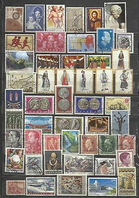 G153-Lote Sellos Grecia Sin Tasar,Greece Stamps Lot Without Pricing Without