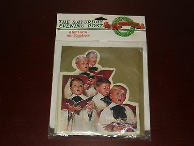 Vintage 1994 Saturday Evening Post Norman Rockwell Gift Cards & Envelopes