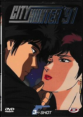 CITY HUNTER 91 (DVD) - SERIE COMPLETA DI 3 DVD (1st, 2nd, 3rd shot) DYNIT