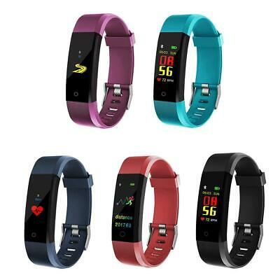 Bluetooth Smart Watch Bracelet Wristband Fitness-ID115 Plus 0.96 inch-5 color