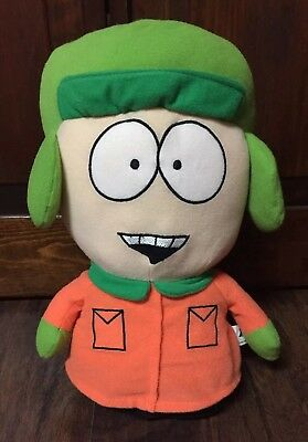 """2008 South Park Kyle Collectible 13.5"""" Stuffed Cloth Character EUC"""