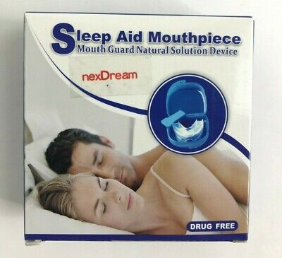nexDream Anti-snore Mouthpiece – Teeth Grinding Mouth Guard – Complete Solution