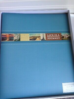 Hallmark Photo Album LIFE IS A JOURNEY Self-Adhesive Pages - New in Box