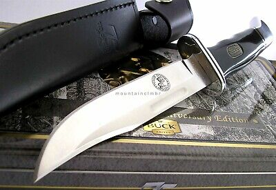 Buck 119 Special 75th Anniversary Edition Boone & Crockett Collector Knife USA