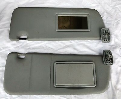 Peugeot 306 Pair Of Sun Visors, With Mirror And Flap