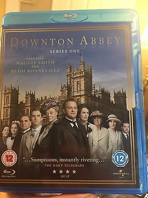 Downton Abbey: Series One (Blu-ray Disc, 2011, 2-Disc Set) Very Good