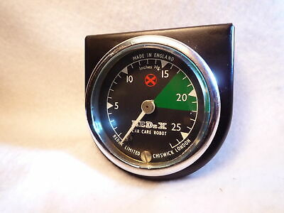 REDEX VACUUM GAUGE triumph austin morris mini minor riley mg series 3 landrover