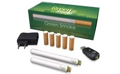 Rechargeable Electronic Cigarette E cig EShisha Green Smoke RED LABER 1.8%%%