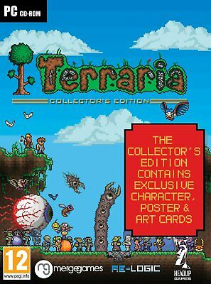 Terraria - Collector's Edition (UK IMPORT) PCGame NEW