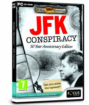 Pc-Hidden Mysteries Jfk Conspiracy - 50 Year Anniversary Ed (UK IMPORT) GAME NEW