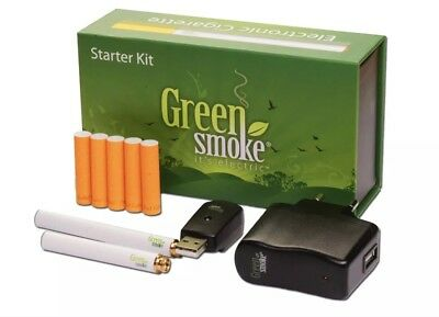 Rechargeable Electronic Cigarette E cig EShisha Green Smoke Signature Red 2.4%%%