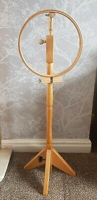 Wooden cross stitch, tapestry & Embroidery adjustable floor standing frame