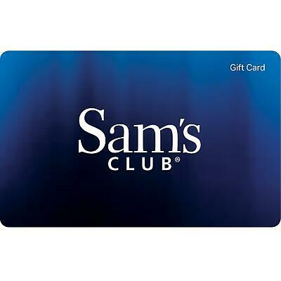 Sam's Club Physical Gift Card - Standard 1st Class Mail Delivery - Sealed