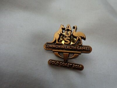 Australia Gold Coast 2018 Commonwealth Games - Australia Team Bronze Pin Badge