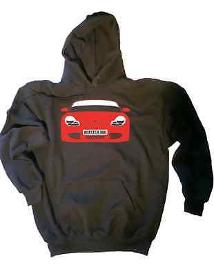 CUSTOM HTees hoody: BOXSTER (986 & 987), Pick car colour & plate, S-XXL