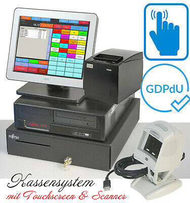 Cash Register System till Touchscreen Bonprinter F Retail Döner Pizzeria #KA18