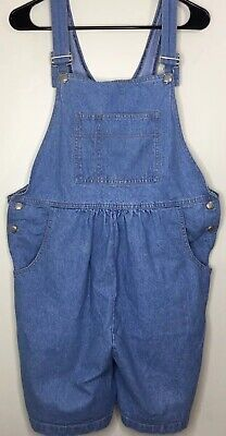 0a37472779ff4 Lindsay Stevens Maternity Short All Size Large Bib Overall Shorts Shortall  Cute