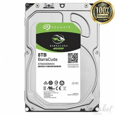 Seagate Internal hard disk 8TB SATA 6Gb/s/5400rpm 3.5 BarraCuda PC from JAPAN
