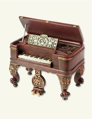 Victorian Trading Co Harpsichord Wind Up Music Box