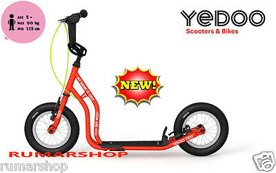 nieuw TOP BRAND YEDOO PUSH KICK CITY ROLLER SCOOTER STEP TIDIT red