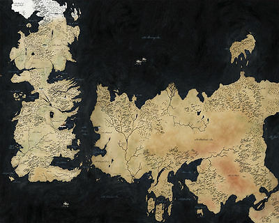GAME OF THRONES BB3 PROMOTIONAL POSTER ART PRINT A4 A3 A2 A1 A0 SIZES