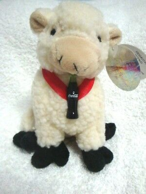 "Coca-Cola COKE ""Woolsy"" Sheep of Ireland Bean Bag Plush Animal 1999"