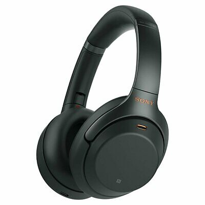Sony Wireless Noise Cancelling Bluetooth Over Ear Headphones Black WH1000XM3B