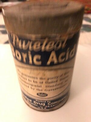 Purestest Boric Acid Vintage Can