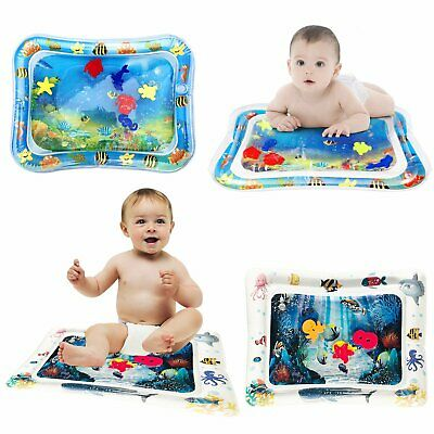 Inflatable Water Mat Baby Infant Toddlers Mattress Splash Kids Fun Play Mat