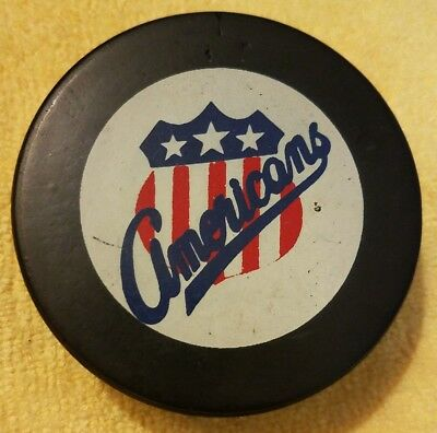 b9912e2f12f99c AMERICANS Vintage AHL APPROVED Hockey Puck INGLASCO VICEROY MADE IN CANADA